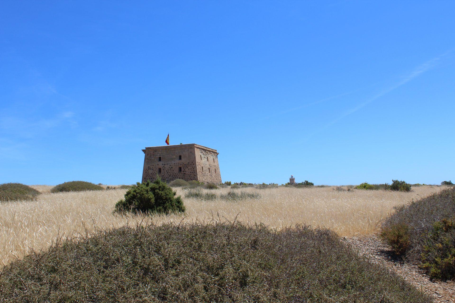 Fort na wyspie Tabarca