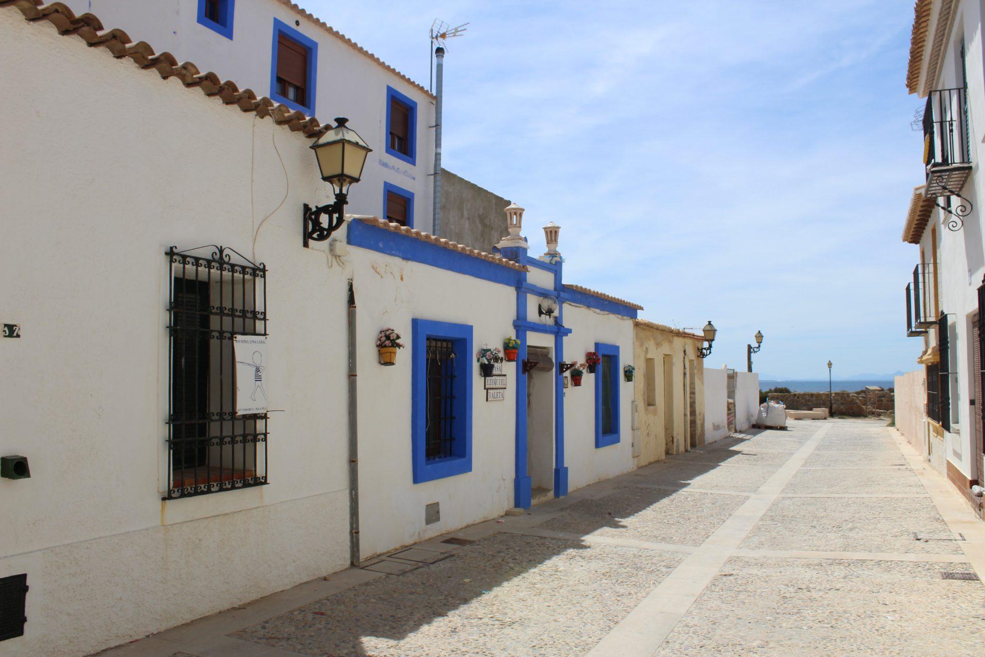 Budynki na wyspie Tabarca