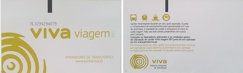 Komunikacja w Lizbonie - karta viva viagem
