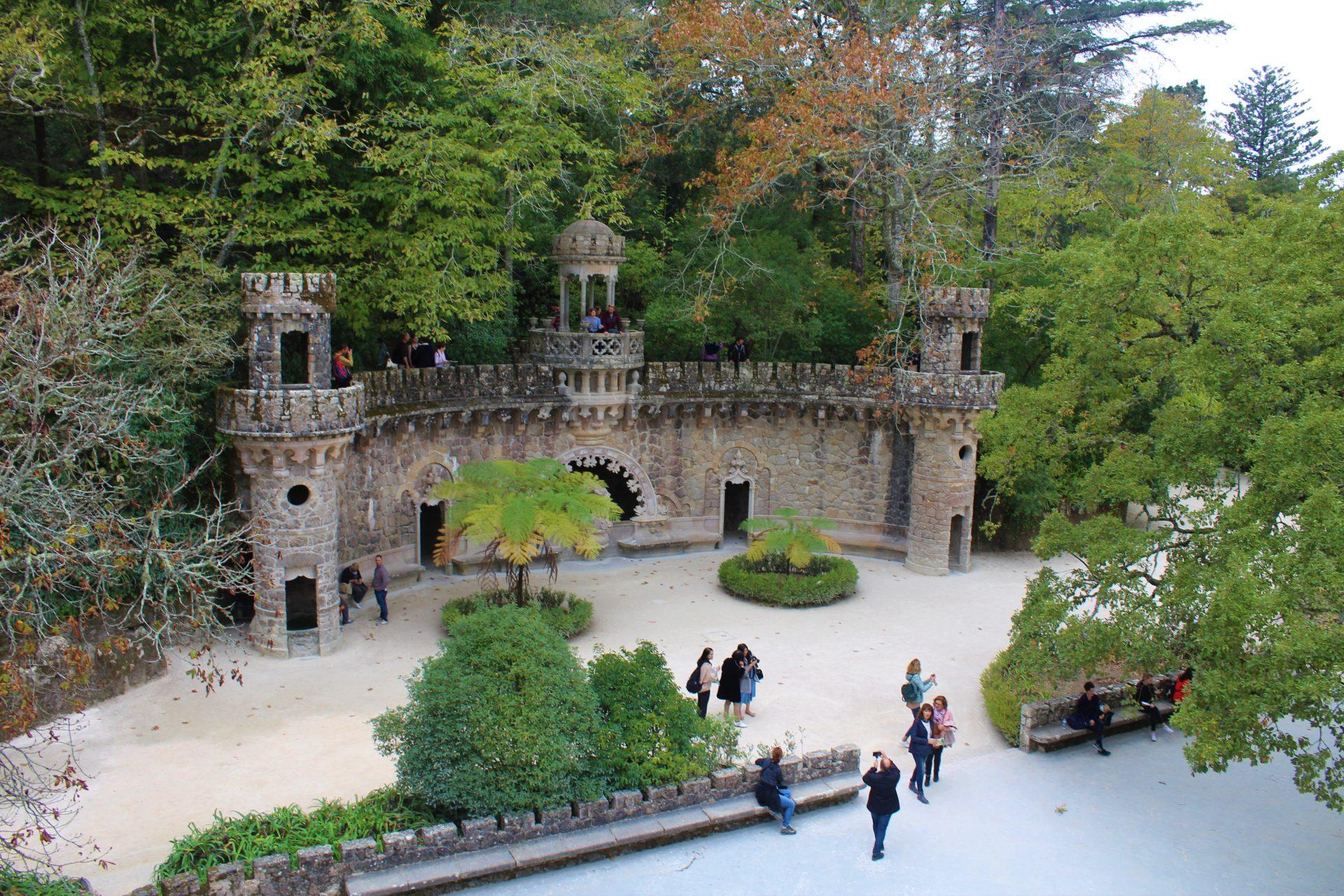 Sintra - Ogród Quinta da Regaleira
