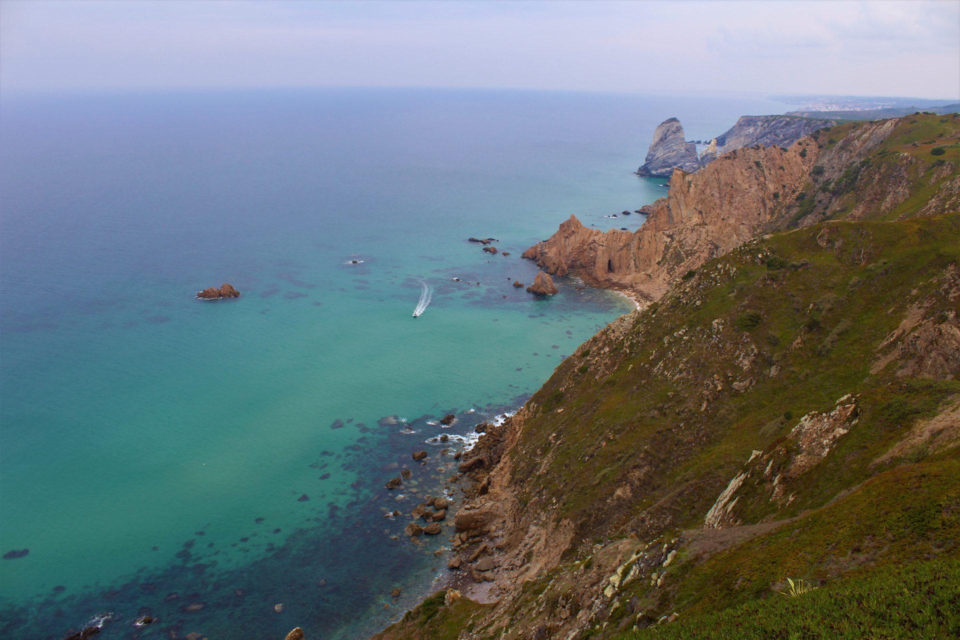Cabo da Roca - widok na ocean