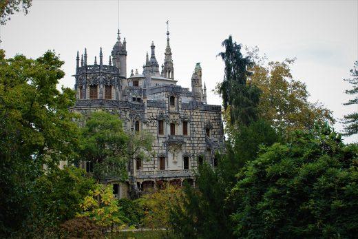Cabo da Roca - Sintra - Pałac Quinta da Regaleira