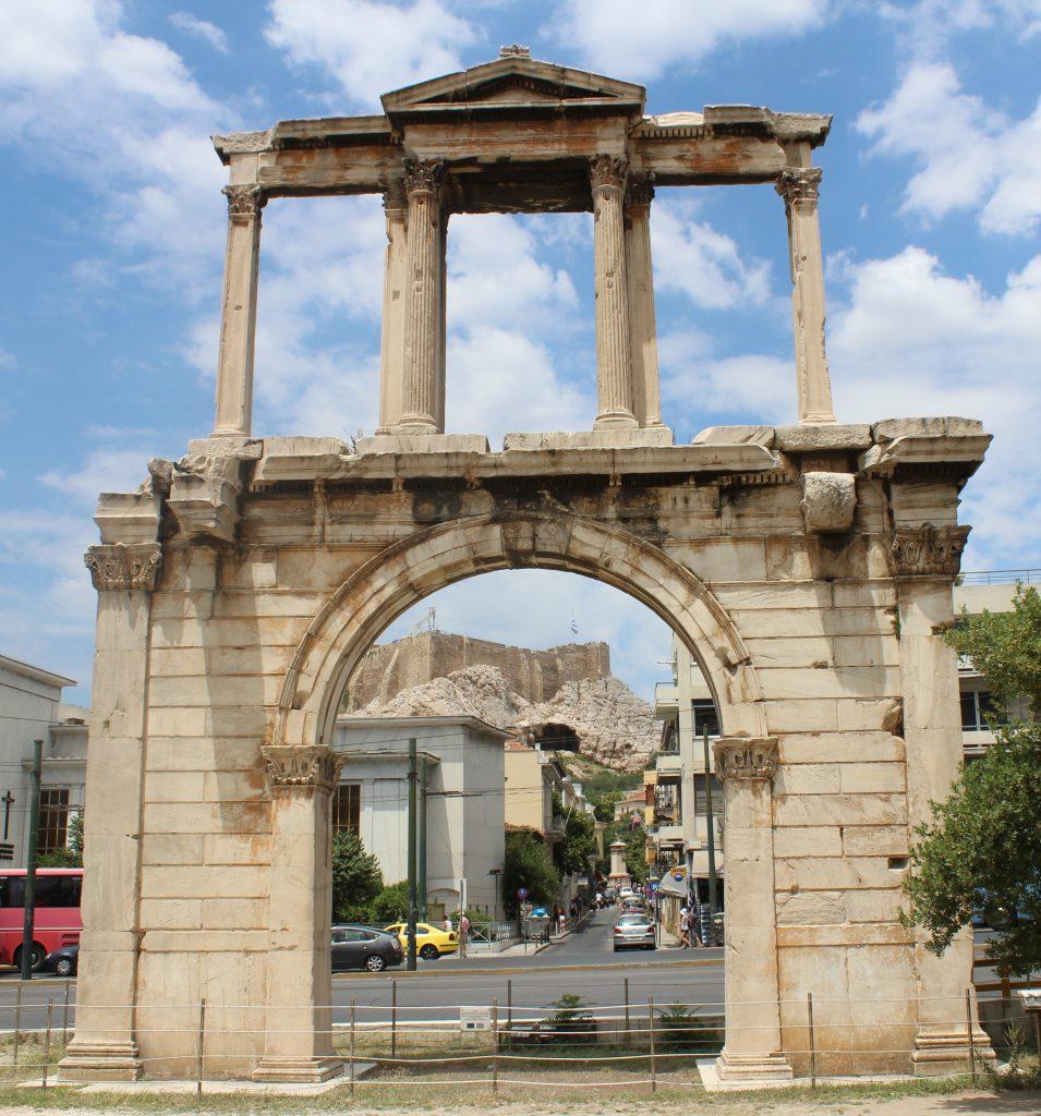 Ateny atrakcje Łuk Hadriana