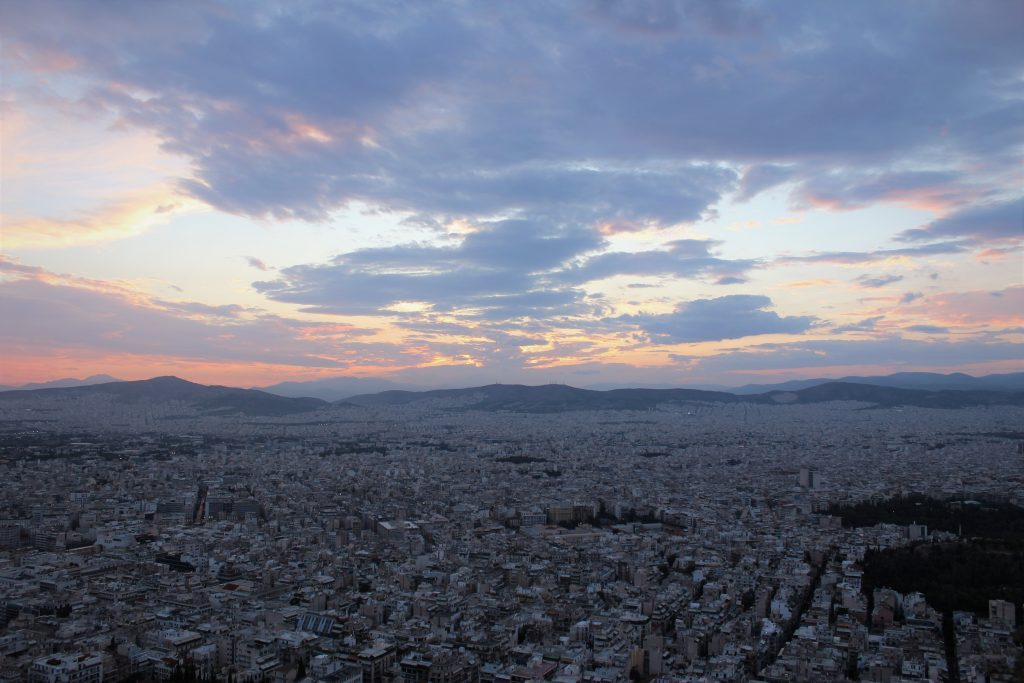 Widok ze Wzgórza Likavitos
