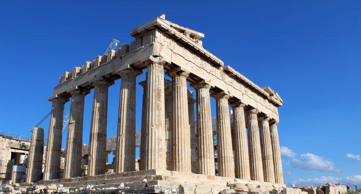 Ateny atrakcje Partenon - Akropol
