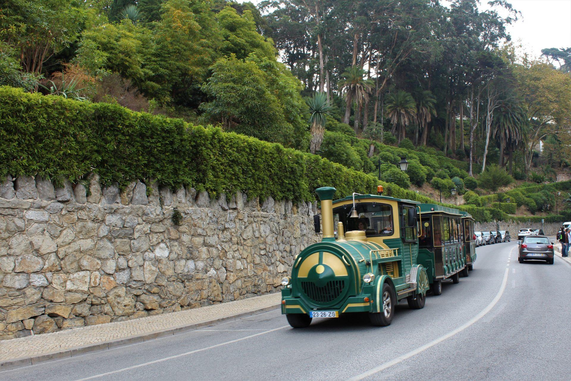 Kolejka turystyczna w Sintrze